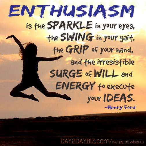 Henry Ford quote enthusiasm