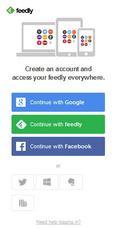 2 feedly desktop screenshot login